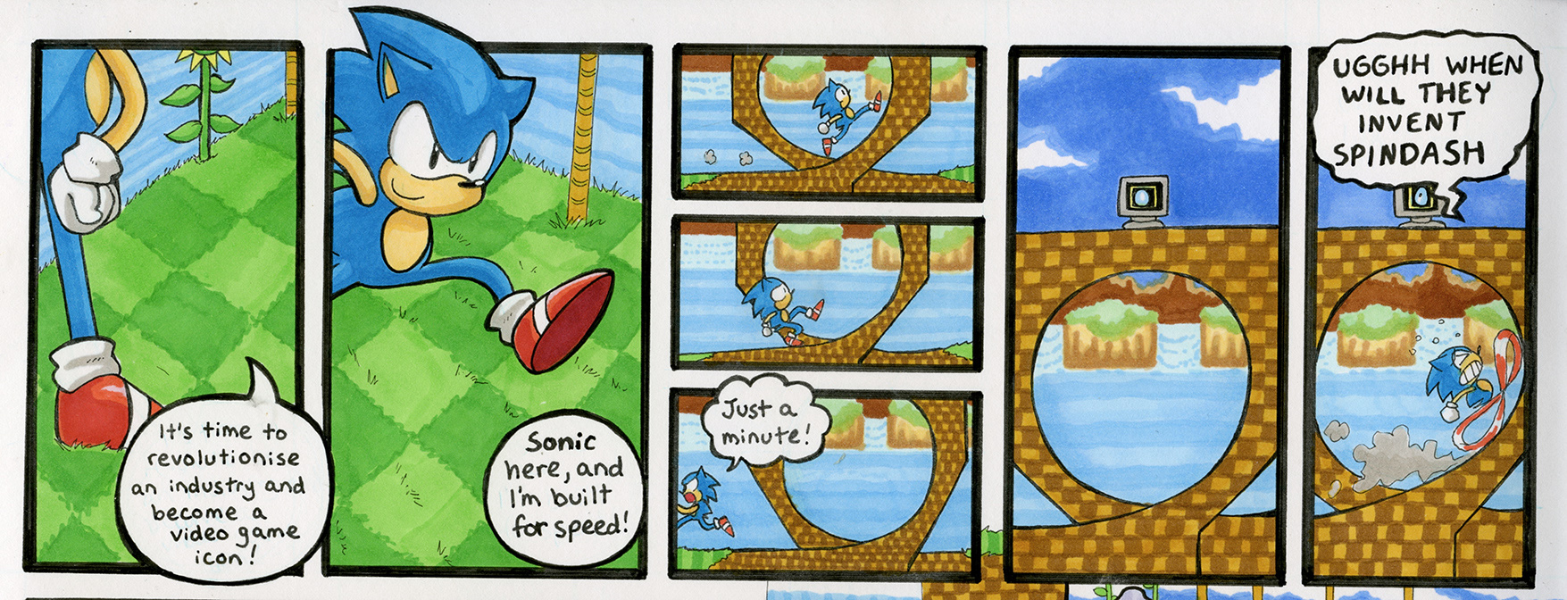 Sonic the Hedgehog 1: Green Hill Zone, Act 1