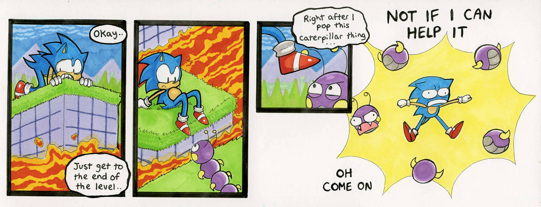 Sonic the Hedgehog 1: Marble Zone, Act 1