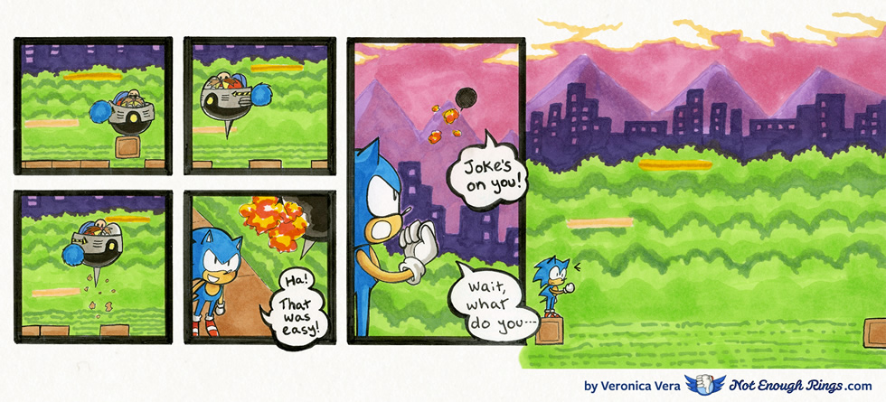 Sonic The Hedgehog 1 Spring Yard Zone Boss Not Enough Rings