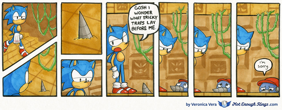 Sonic the Hedgehog 1: Labyrinth Zone, Act 2