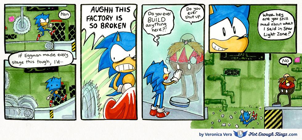 Sonic the Hedgehog 1: Scrap Brain Zone, Act 2