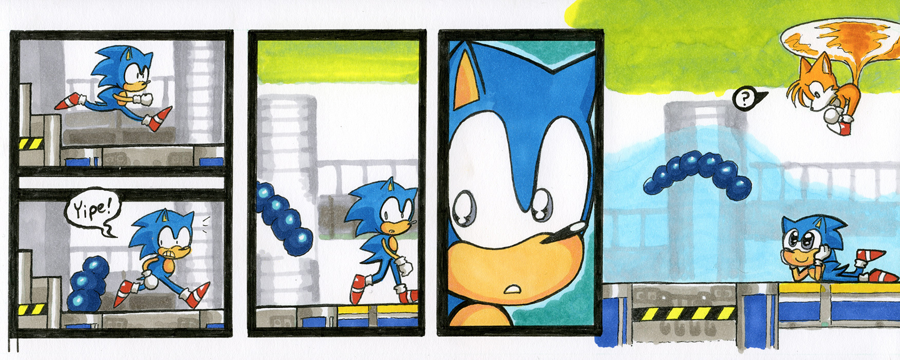 Sonic the Hedgehog 2: Chemical Plant Zone, Act 1