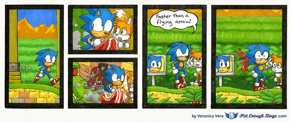 Sonic the Hedgehog 2: Aquatic Ruin Zone, Act 1
