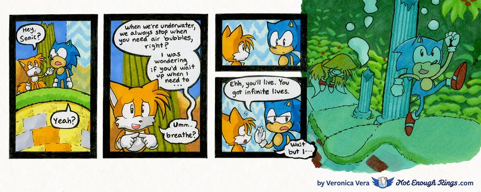 Sonic the Hedgehog 2: Aquatic Ruin Zone, Act 2