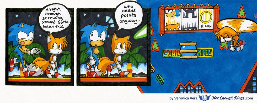 Sonic the Hedgehog 2: Casino Night Zone, Act 2