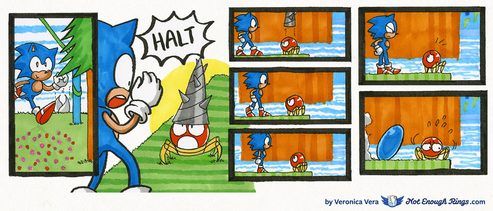 Sonic the Hedgehog 2: Hill Top Zone, Act 1
