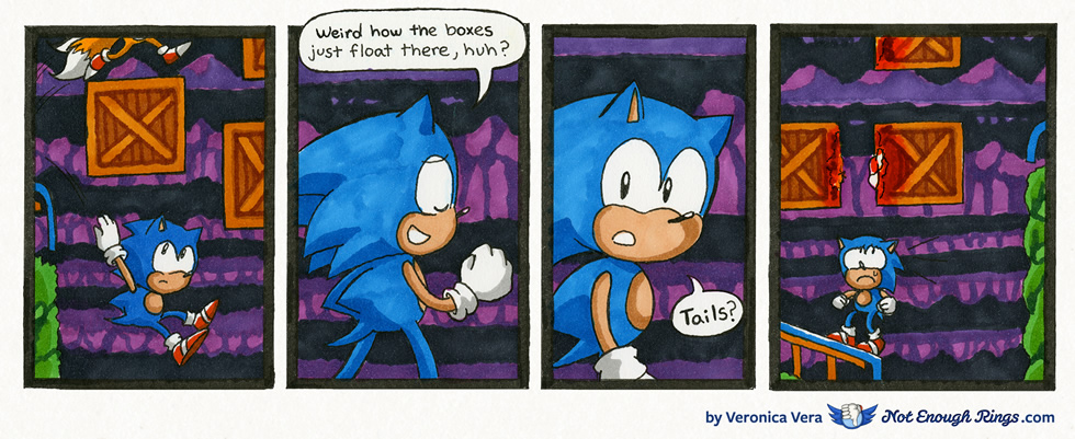 Sonic the Hedgehog 2: Mystic Cave Zone, Act 1