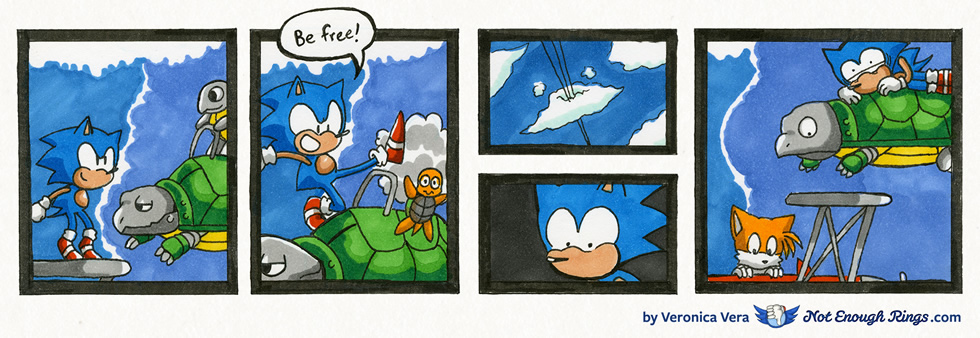 Sonic the Hedgehog 2: Sky Chase Zone