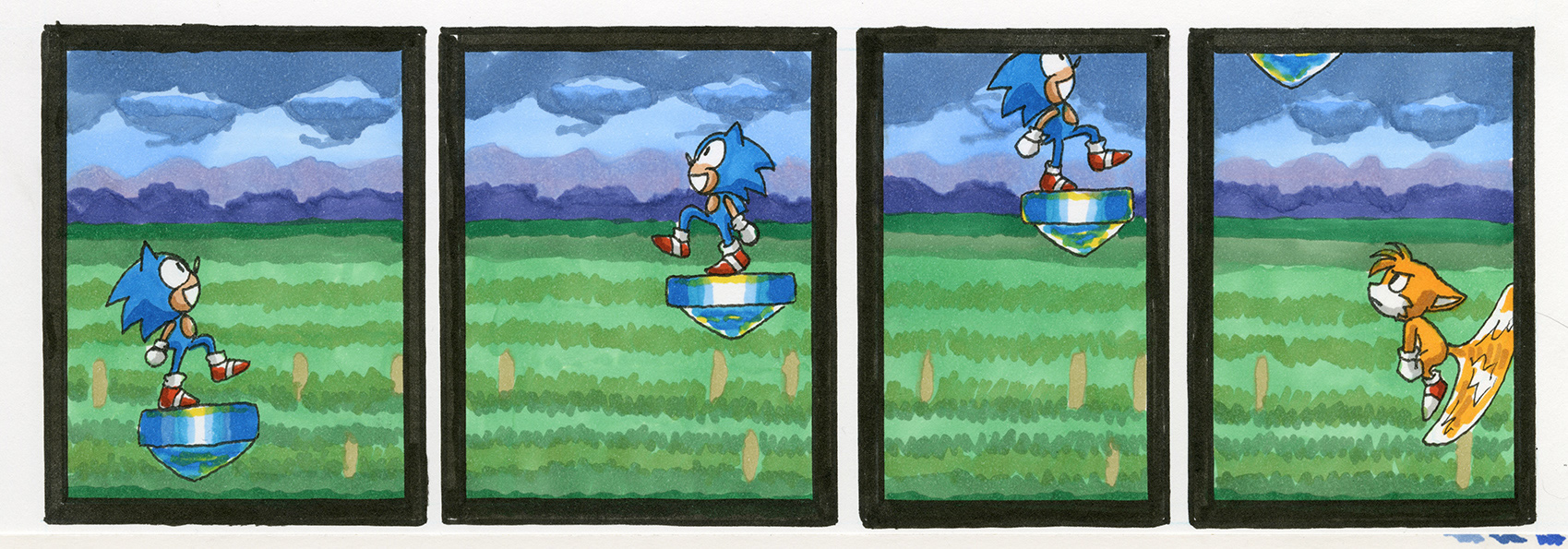 Sonic the Hedgehog 3: Marble Garden Zone, Act 2