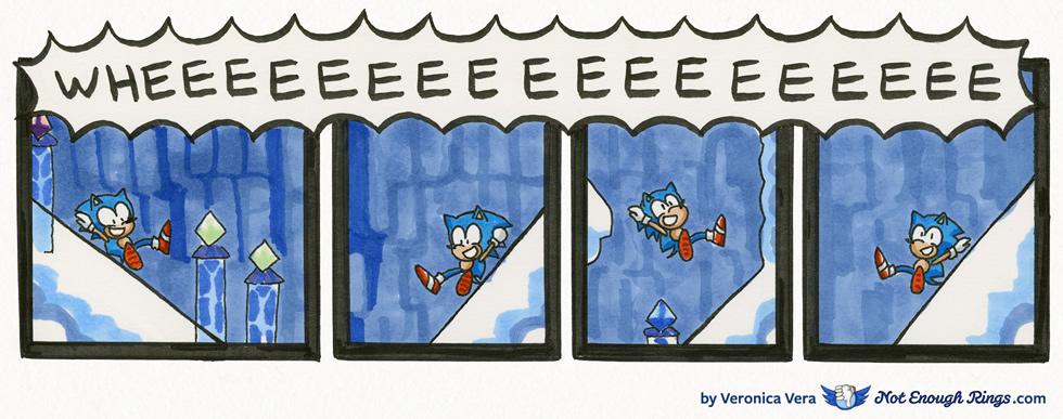 Sonic the Hedgehog 3: Icecap Zone, Act 1