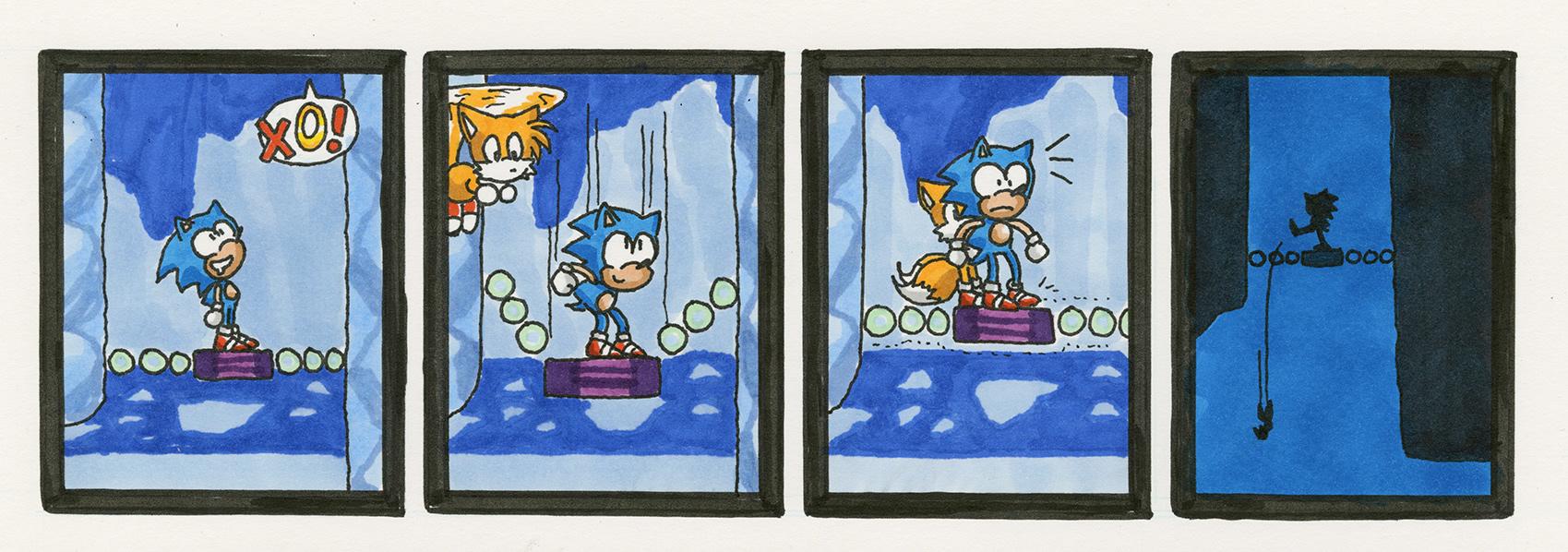 Sonic the Hedgehog 3: Icecap Zone, Act 2