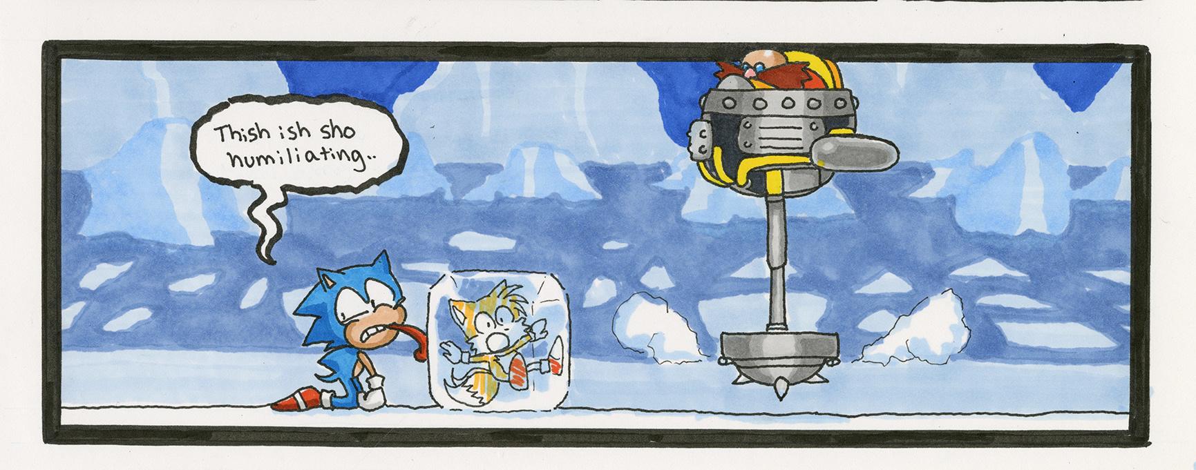 Sonic the Hedgehog 3: Icecap Zone Boss