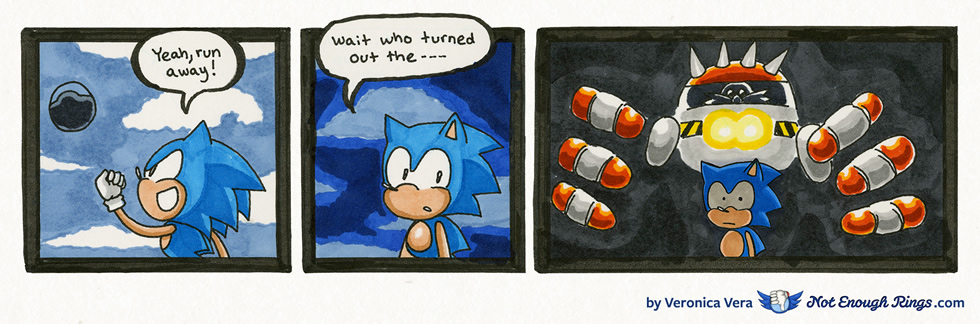Sonic The Hedgehog 3 Launch Base Zone Boss Not Enough Rings