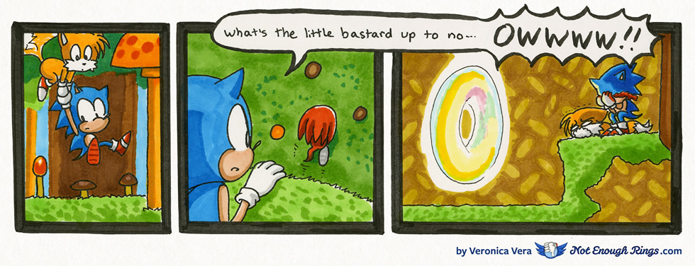 Sonic & Knuckles: Mushroom Hill Zone, Act 1