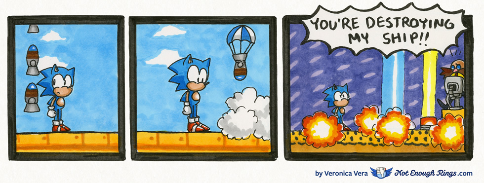 Sonic & Knuckles: Flying Battery Zone, Act 2